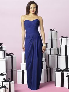 After Six Style 6641 #blue #bridesmaid #dresses