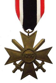 German Third Reich War Merit Cross With Swords
