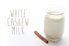 Recipe: Cashew Milk (Raw, Gluten-Free & Vegan)