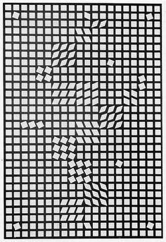 Victor Vasarely, Op Art, Pattern Art, Pattern Design, Generative Art, Illusion Art, Line Patterns, Textile Prints, Optical Illusions