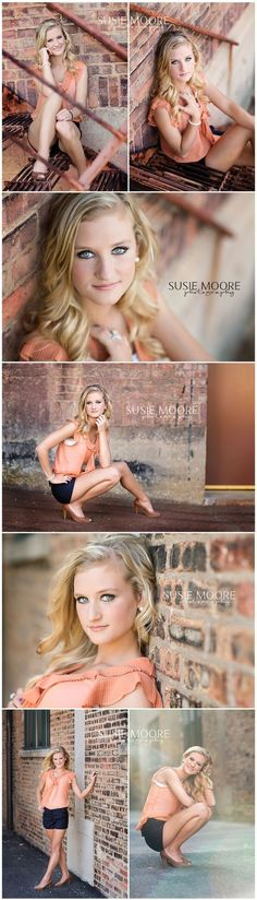 Senior Photography Poses | senior girl photography {posing ideas} / Susie Moore Photography | IL ... by lucile