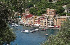 Portofino é uma ótima opção de passeio pra fazer a partir de Gênova ou Cinque…