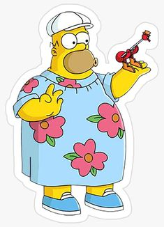 Bubble Stickers, Meme Stickers, Cool Stickers, Printable Stickers, Laptop Stickers, Homer Simpson, Simpsons Drawings, Simpsons Characters, Doodles