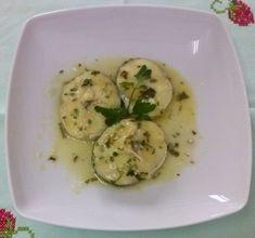 Merluza en salsa verde Salsa Verde, Potato Salad, Zucchini, Potatoes, Vegetables, Ethnic Recipes, Food, Hake Recipes, Food Processor