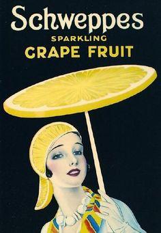 Sparkling Grape Fruit http://thewidowflannigan.tumblr.com/post/19500022376/sydneyflapper-schweppes-grapefruit-for-those