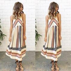 6a50b76931 2018 New Arrive Women Lady Summer Dress Clothing Sleeveless Beach Casual  Party Dress Vestidos S-