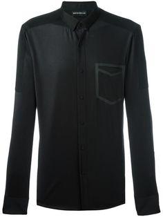 EMPORIO ARMANI Pocket Print Shirt. #emporioarmani #cloth #shirt