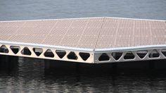 Floating boat dock:  Canada Docks Do-it-Yourself Floating Docks Overview