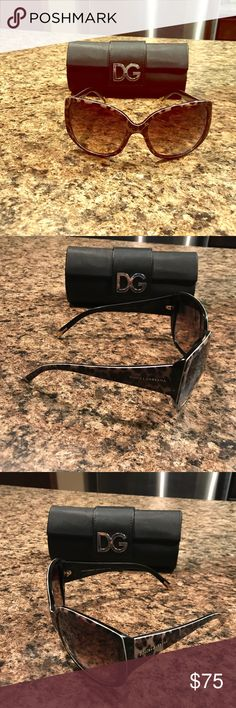Dolce & Gabbana sunglasses Authentic Dolce & Gabbana sunglasses. Worn a handful of times. Tiny tiny scratches that do not affect the view at all! Case is broken but will be included. ‼️OFFERS TROUGH OFFER BUTTON ONLY‼️ Dolce & Gabbana Accessories Sunglasses