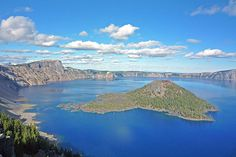 """Get Out Of Portlandia! 10 Epic Weekend Trips #refinery29  http://www.refinery29.com/2014/08/71921/portland-weekend-trips#slide1  Crater Lake Distance from Portland: 233 miles  This may be a drive, but a visit to the U.S.' deepest lake — and the world's ninth — is worth the trip. As the Oregon National Park's main attraction, the incredibly clear lake is true to its name with a depth of 1,943 feet — a result of a volcano collapsing into a giant caldera, or more simply put """"a crater.""""  You can…"""