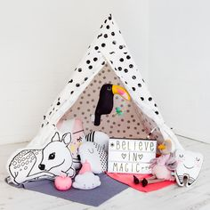Stardust and Unicorns Children's Bedroom, designed and styled by @bobbyrabbitkids
