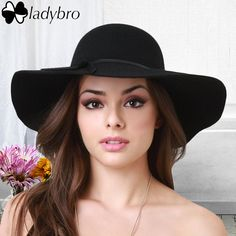 Ladybro 2016 Autumn Summer Wide Brim Sun Hat Women Fedora Hat Floppy Cloche Beach Bowknot Cap Chapeau Imitation Wool Bowler Cap-in Sun Hats from Women's Clothing & Accessories on Aliexpress.com | Alibaba Group