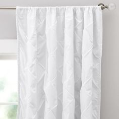Pintuck Blackout Drape pottery barn teen $79
