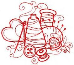 1000 Images About SewingQuilting Clipart On Pinterest
