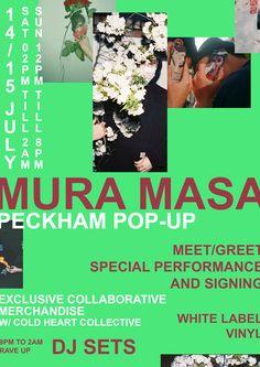 Homepage - Mura Masa