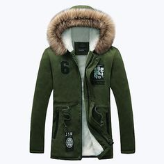 36f302b6d66 HCXY Men Winter Jacket Casual Mens Jackets And Cotton Coats Warm Thick  Parka Men Outwear 4XL Thick