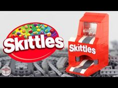 LEGO Skittles Mini Machine - YouTube