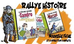 Rallye lecture cycle 3 : Histoire