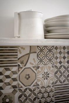 #Marazzi #Block Dekor Beige 15x15 cm MH92   #Feinsteinzeug #Dekore #15x15   im Angebot auf #bad39.de 31 Euro/qm   #Fliesen #Keramik #Boden #Badezimmer #Küche #Outdoor