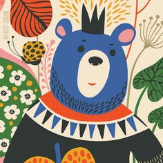 Goldberry and the Forest Master  limited edition door helendardik, $25.00