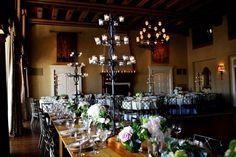 Congressional Country Club Wedding Reception Decor 550x366 Soft Spring Maryland Wedding Reception: Kelly + Andrew