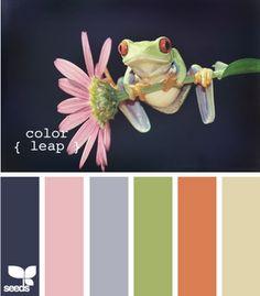 Color leap!