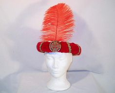 Red Velvet Wise Man Magi Nativity Roll Headpiece Crown with Wise Man Costume, Costume Hats, Nativity Costumes, Nativity Crafts, King Hat, Christmas Crafts, Christmas Decorations, Gold Medallion, Kings Crown