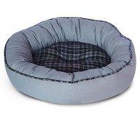 Фотография товара Лежак для собак Triol, размер 45x45x15см., серый/клетка