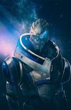 Garrus by aelice.deviantart.com on @deviantART Mass Effect Garrus, Mass Effect 1, Mass Effect Universe, Mass Effect Comic, Mass Effect Tattoo, Mass Effect Characters, Vampire Games, Commander Shepard, Deviantart