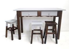 Mesa + bancos cozinha