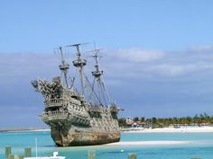 The Flying Dutchman at Disney's Castaway Cay