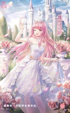 Anime Angel Girl, Anime Girl Dress, Manga Girl, Anime Art Girl, Pretty Anime Girl, Beautiful Anime Girl, Kawaii Anime Girl, Queen Anime, Anime Princess