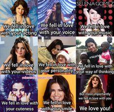 We fell in LOVE with you Selena Marie Gomez! Selena Gomez Facts, Selena Gomez Album, Selena Gomez Cute, Selena Gomez Pictures, Love Song Baby, Love Songs, Jonas Brothers, Sabrina Carpenter, Demi Lovato