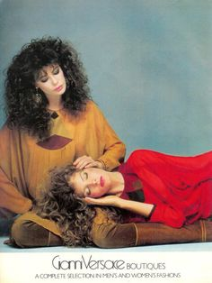 Kelly LeBrock and Rene Russo by Richard Avedon, 1981