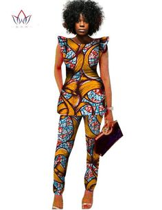 Estimated Delivery Closure Type: None Decoration: Pattern Collar: O-Neck Sleeve Style: Flare Sleeve Pant Closure Type: Zipper Fly Dresses Length: Ankle-Length Clothing Length: Regular Pattern African Fashion Designers, African Inspired Fashion, African Print Fashion, Africa Fashion, African Fashion Dresses, Fashion Outfits, Fashion Ideas, African Outfits, African Prints