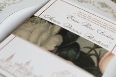 Dreamy invitation from @lauriecoreas by lolaandrellacreative