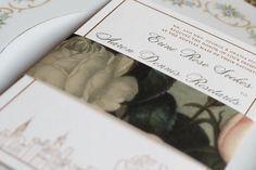 Dreamy invitation from @lauriecoreas by lolaandrellacreative