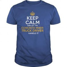 Awesome Tee For Concrete Mixer Truck Driver - #long sleeve shirts #denim shirts. I WANT THIS => https://www.sunfrog.com/LifeStyle/Awesome-Tee-For-Concrete-Mixer-Truck-Driver-129919175-Royal-Blue-Guys.html?60505