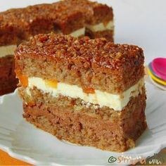 simonacallas - Desserts, sweets and other treats Romanian Desserts, Romanian Food, Homemade Sweets, Food Cakes, Something Sweet, Greek Recipes, Cake Cookies, Cake Recipes, Sweet Treats