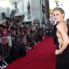Hollywood's glamorous side! Anna Paquin's makeup by me :-)
