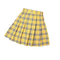 Discover outfit ideas for made with the shoplook outfit maker. How to wear ideas for Del Carlo High Heels and Denim Shorts - Blue Clueless Outfits, Kpop Fashion Outfits, Girls Fashion Clothes, Stage Outfits, Girly Outfits, Cute Casual Outfits, Skirt Outfits, Pretty Outfits, Yellow Plaid Skirt