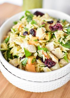 Melon Orzo Salad wit