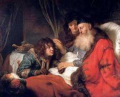 Isaac Blessing Jacob - Govert Flinck, 1638