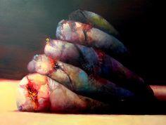 Sín título. 2008.Óleo sobre lienzo. 162 x 130 cm. by joseba.eskubi, via Flickr