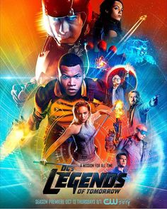 Who's ready for the Season 2 premiere of #LegendsofTomorrow tonight?  #RipHunter #WhiteCanary #Atom #TheAtom #Firestorm #CaptainCold #Heatwave #Hawkman #Hawkgirl #JSA #JusticeSocietyofAmerica #Hourman #Stargirl #Obsidian #Vixen #DrMidnite
