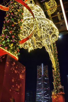 Christmas in Minato Mirai 21, Yokohama, Kanagawa, Japan