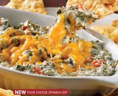 Kelsey's spinach dip