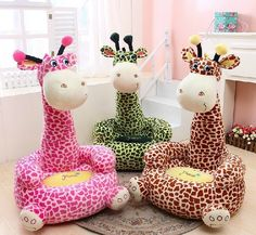 66.64$  Watch here - http://aliroc.worldwells.pw/go.php?t=32593093385 - creative plush giraffe sofa toy big lovely cartoon giraffe sofa doll children's sofa gift about 80x50cm