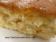 Classic Apple Cake | The Charmed Kitchen