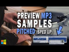 How to Play MP3 Samples Sped Up (Pitched) like Turntable w/ Winamp + Pacemaker Plugin, Windows PC